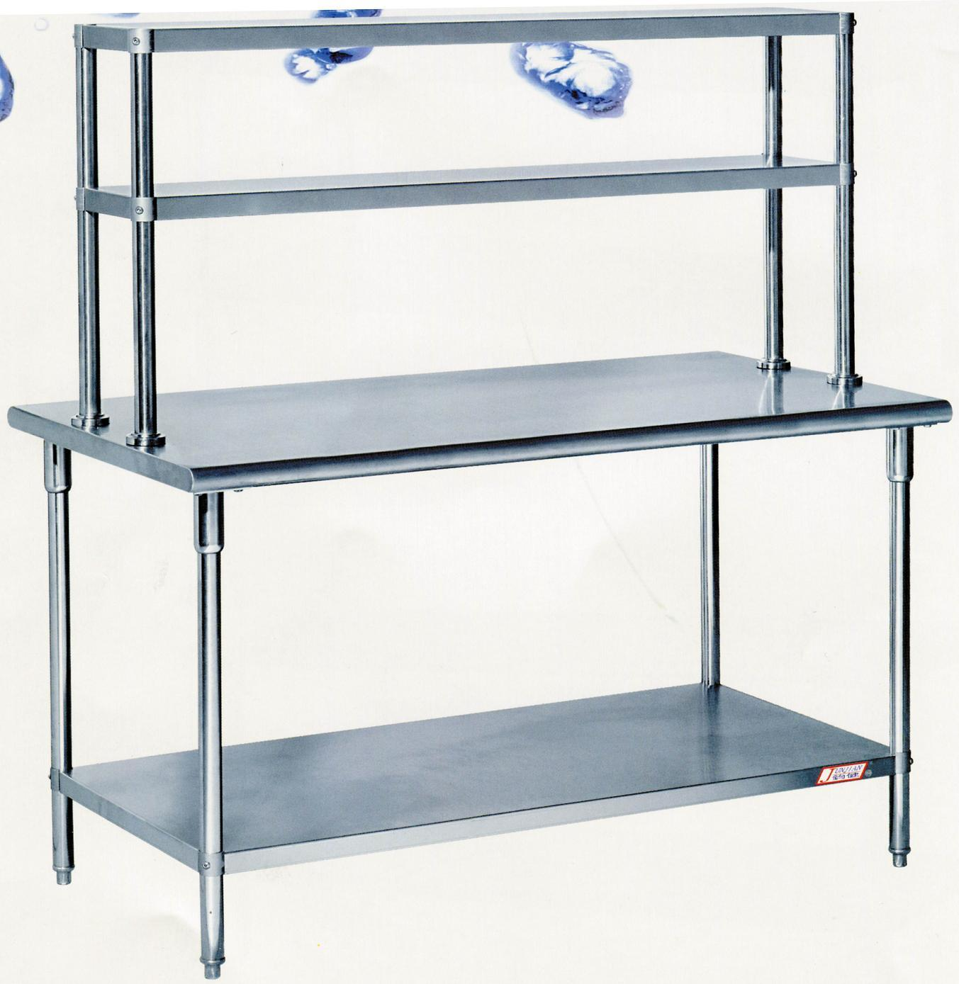 China Assembling Stainless Steel Work Table with Overshelves CZTS kitchen work tables Assembling Stainless Steel Work Table with Overshelves CZTS