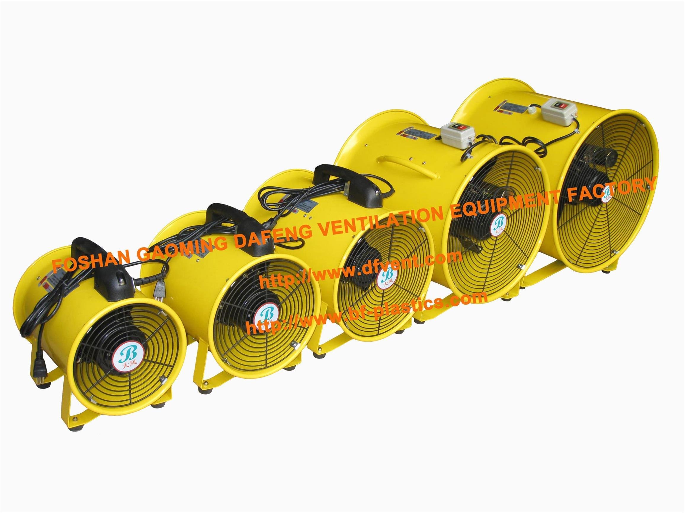 Portable Extractor Fan Hot Item Portable Ventilator Axial Blower Workshop Extractor Fan 220 240v