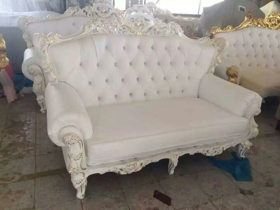China Modern Royal Sofa For Wedding Love Seat Bride And