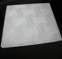 China PVC Gypsum Ceiling Tile (elegant new design) - China ...
