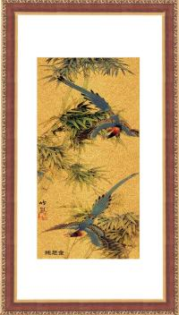 China 24k Genuine Gold Foil Painting/Gold Leaf Picture ...