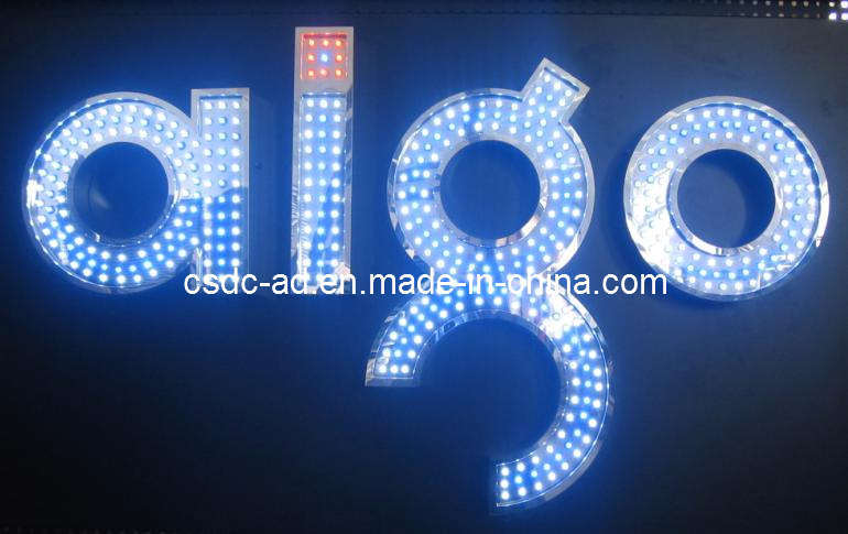Manufacturing Carton Box Supplier China Led Signs Advertising Sign Led Exposed Luminous Word