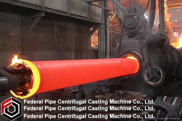 China Pipe Suppliers China Ductile Iron Pipe Centrifugal Casting Machine