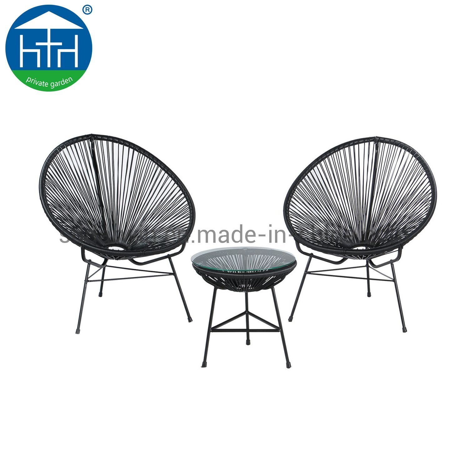 China Pe Rattan Wicker Acapulco Chair For Outdoor Garden Furniture China Outdoor Chair Pe Wicker Chair