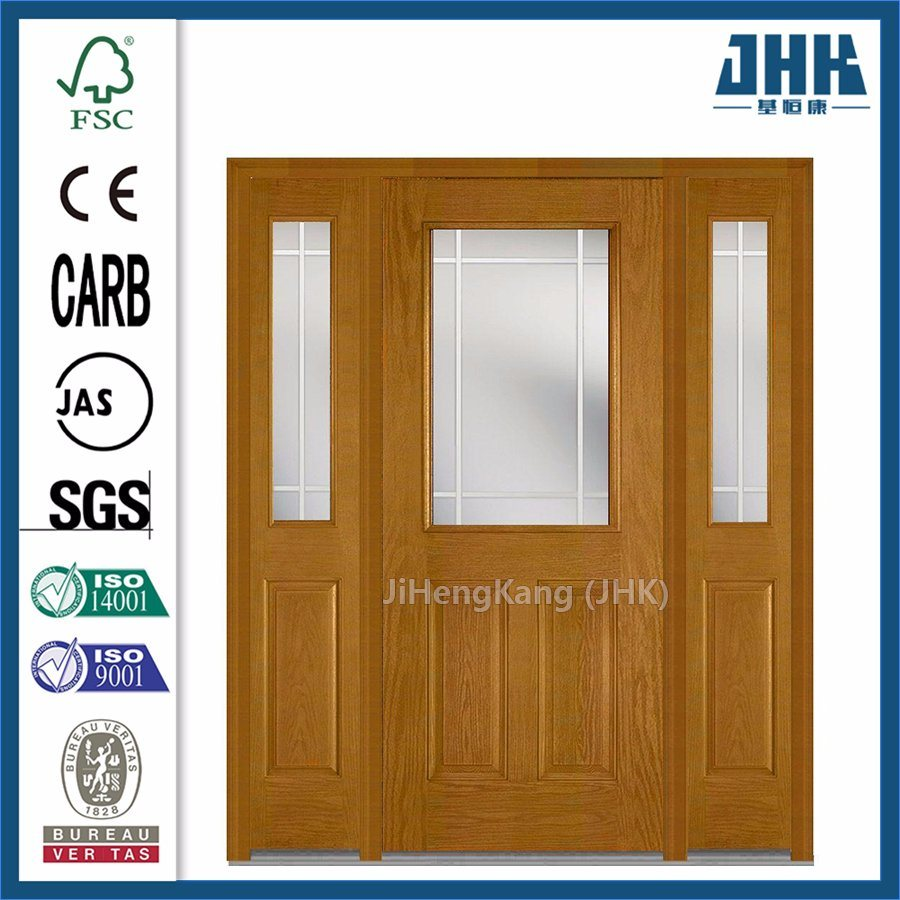 Timber Glass Doors Hot Item Glass Molded Single French Wooden Timber Door Jhk Fd02 1