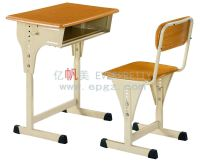 China 2015 Guangzhou School Furniture Classroom Desk and ...