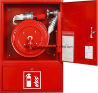 China Fire Hose Reel Cabinets/Steel Fire Extinguisher ...