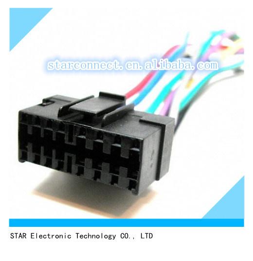 China Best Quality Kits Jvc 16 Pin Original Head Unit Radio Wiring