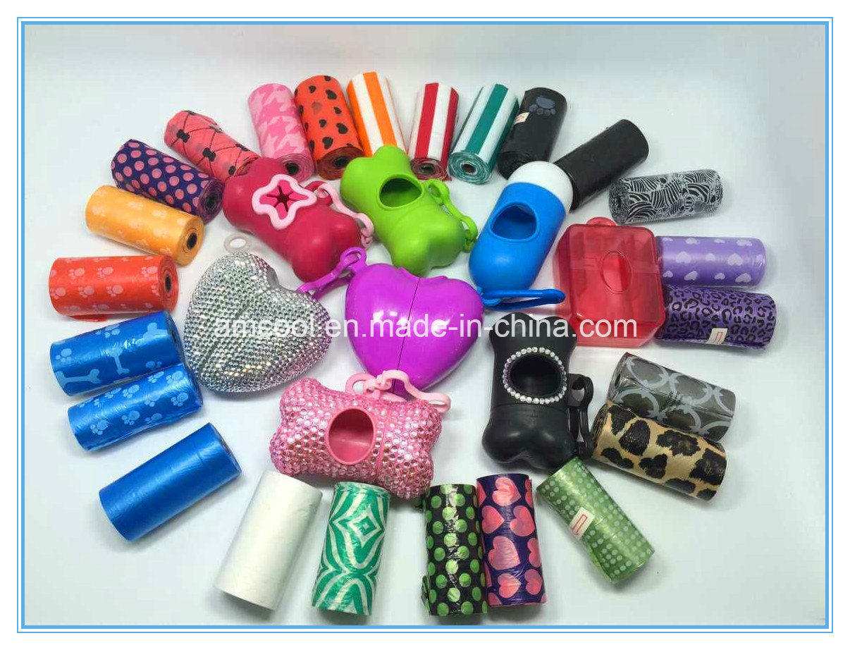 China Rhinestone Waste Bag Holder With Logo Wholesale Pet