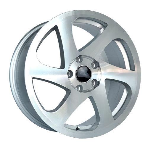 China Flywheel Design Silver Alloy Wheels - China Aftermarket Alloy