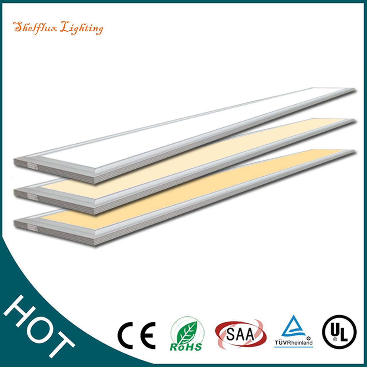 Led Office Lights 36w Led Panel Lights Suspended Ceiling Recessed Shop Office Lighting 1200 X 200