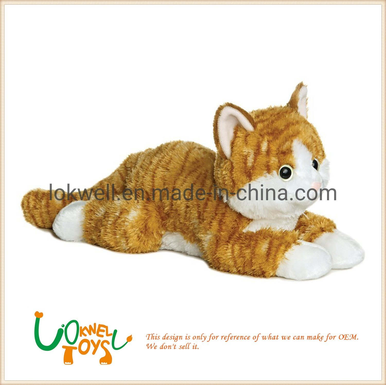 Cat Plush Toy Hot Item Cute Plush Toy Cat Manufacture