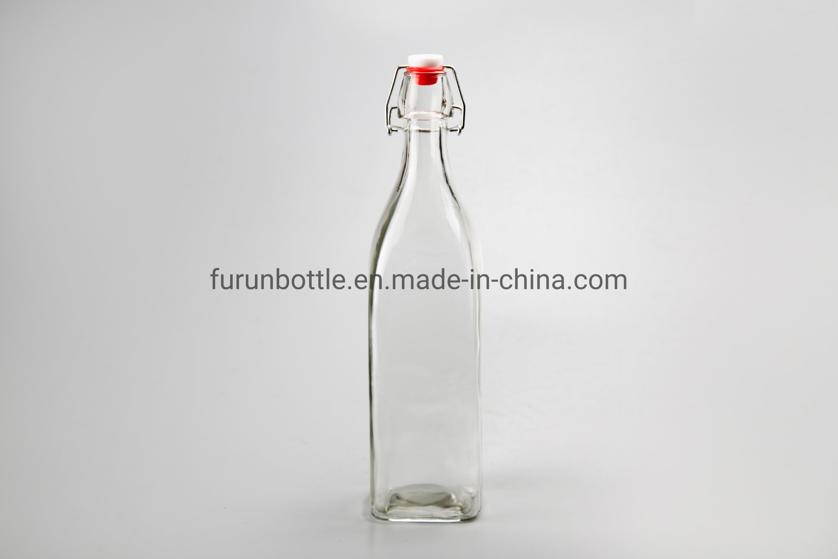 Glass Factory Manufacturer China 1000ml Clear Glass Swing Top Bottle Manufacturer