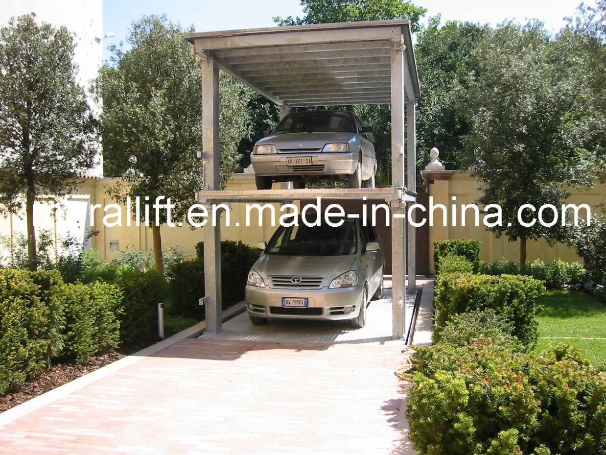 Car Lift To Basement Garage China 4 Post Basement Garage Car Lift Photos Pictures Made In