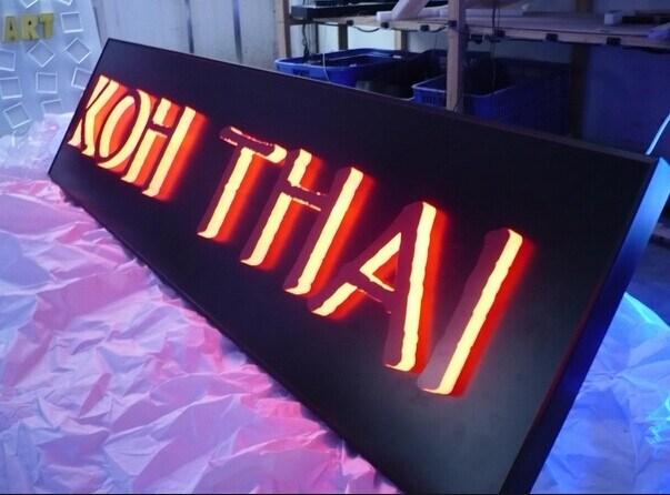 DIY-LED-Backlit-Channel-Letter-Sign-LED-Letter-Sign-3D-Light-Box - admiration letter