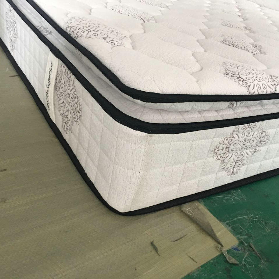 Comfy Mattress China Luxury King Size Innerspring Hybrid Mattress Comfy High