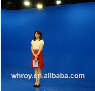China Blue Background Cloth, 100 Cotton Muslin Backdrop Photo