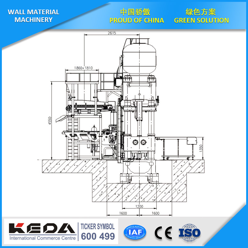 China Automatic Refractory Hydraulic Press for Brick Making Photos