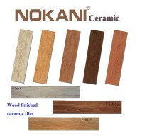 China Wood Finished Ceramic Tiles for Flooring, Indoor ...