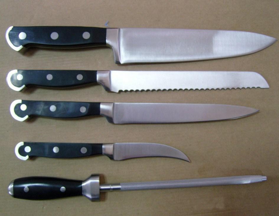 pcs kitchen knives set skk china kitchen knives kitchen knife boker offers kitchen knife boker gorm knife set black boker