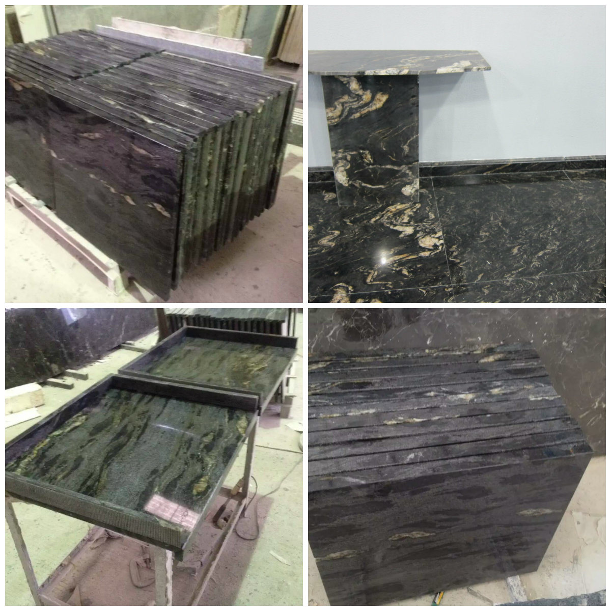 Black Titanium Granite Countertops China Wholesale Cosmic Black Titanium Galaxy Granite