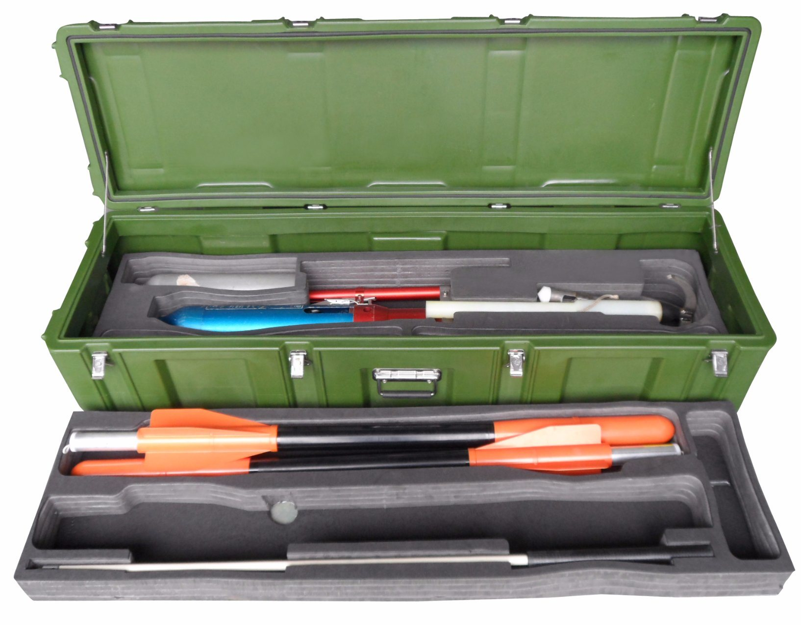 China Weapon Military Hard Plastic Case For Carrying Huge