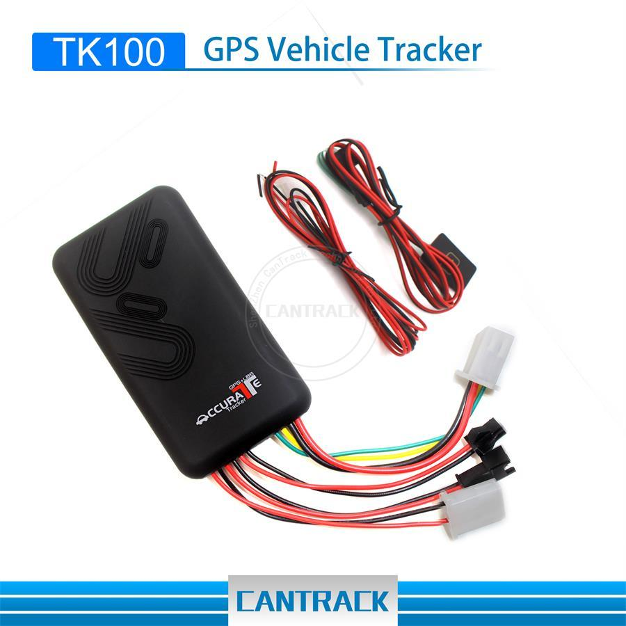 Gps Tracker Hot Item Tk100 Micro Gps Tracking Device With Acc Anti Theft Sos Remote Cut Oil Alarm
