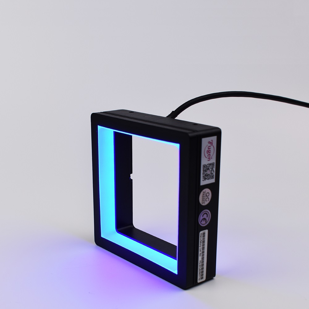 Light Automation Hot Item Fg Fpq Series Machine Vision Automation Led Shadowless Square Light Illuminator For Industrial Testing In China
