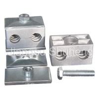 China Twin Series Aluminium Pipe Clamp (DIN3015 Part 3 ...