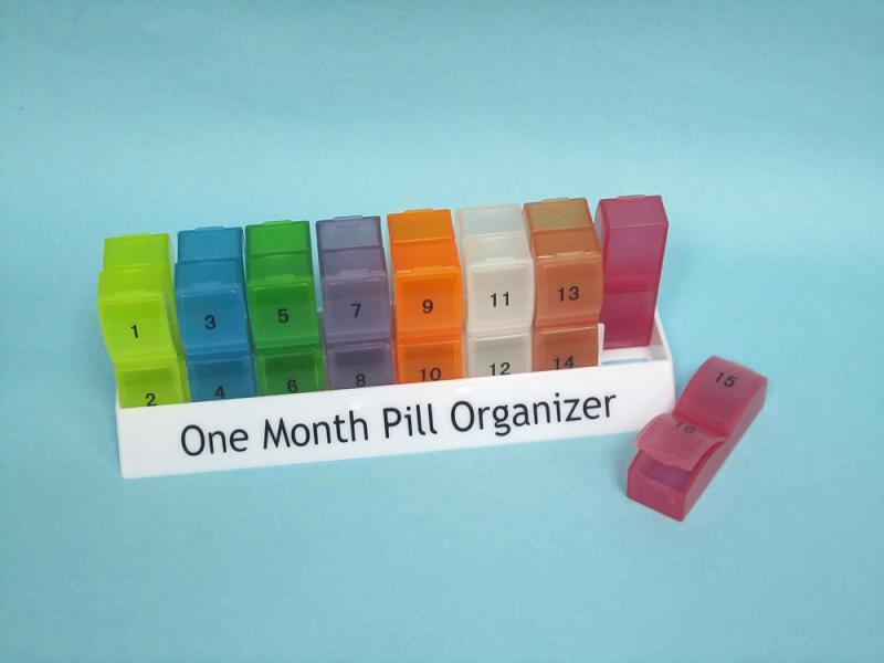 One Month Pill Dispenser Pictures To Pin On Pinterest