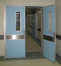China Double Door Hospital, Door Design for School ...