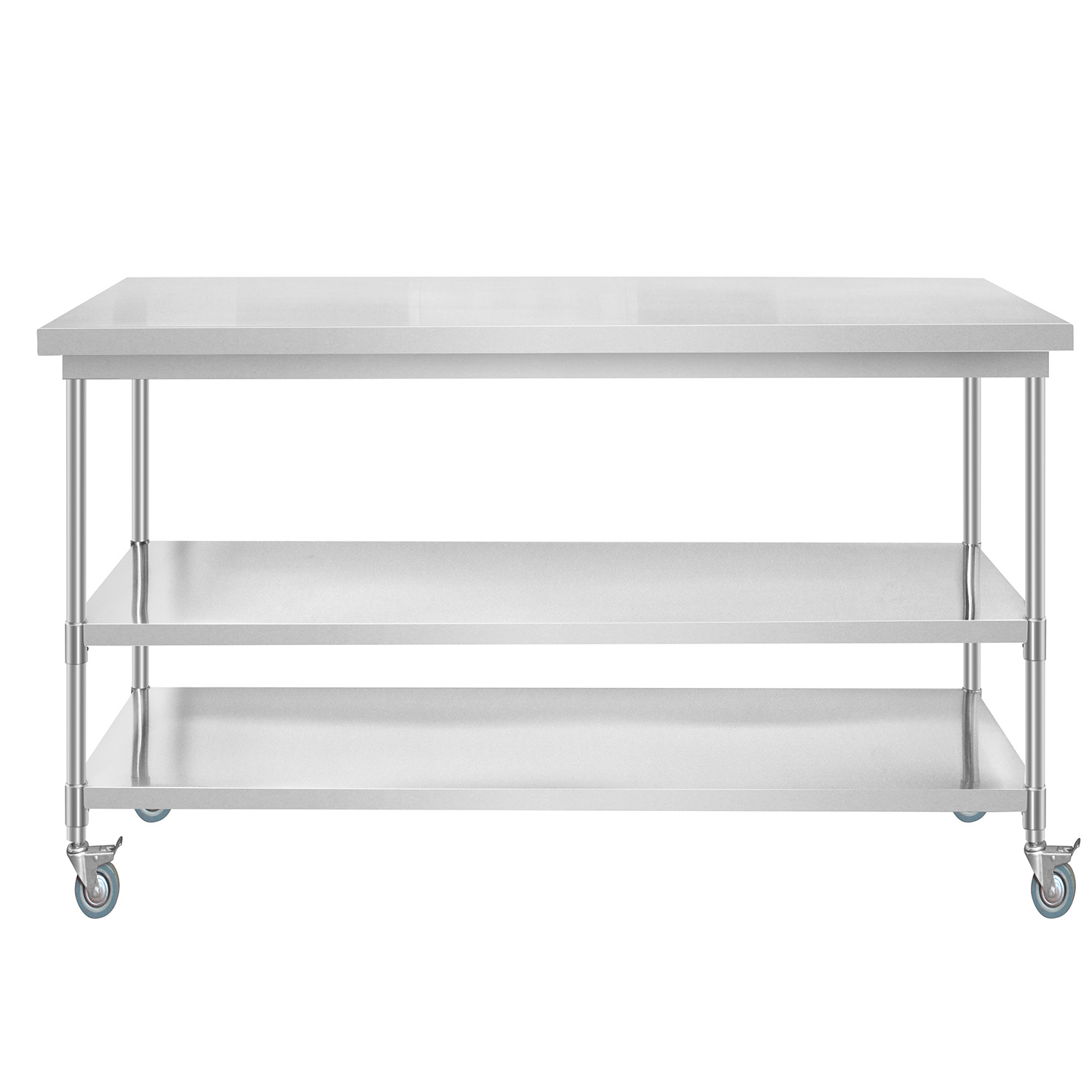 China Stainless Steel Hospital Work Table With Wheels China Hospital Table With Wheels Hospital Table Medical Supply