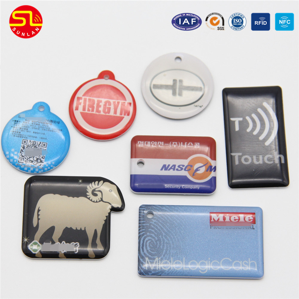 Nfc Tags Hot Item Iso14443a Customized Printed Pvc Pet Nfc Tags