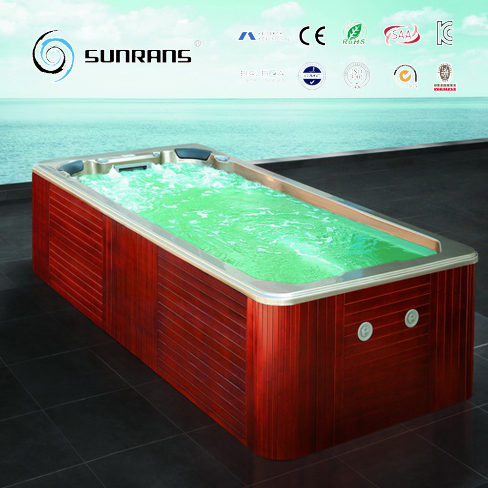 Jacuzzi Pool In Ground China 4 3m Above Ground Acrylic Endless Swim Pool Spa Pools Photos