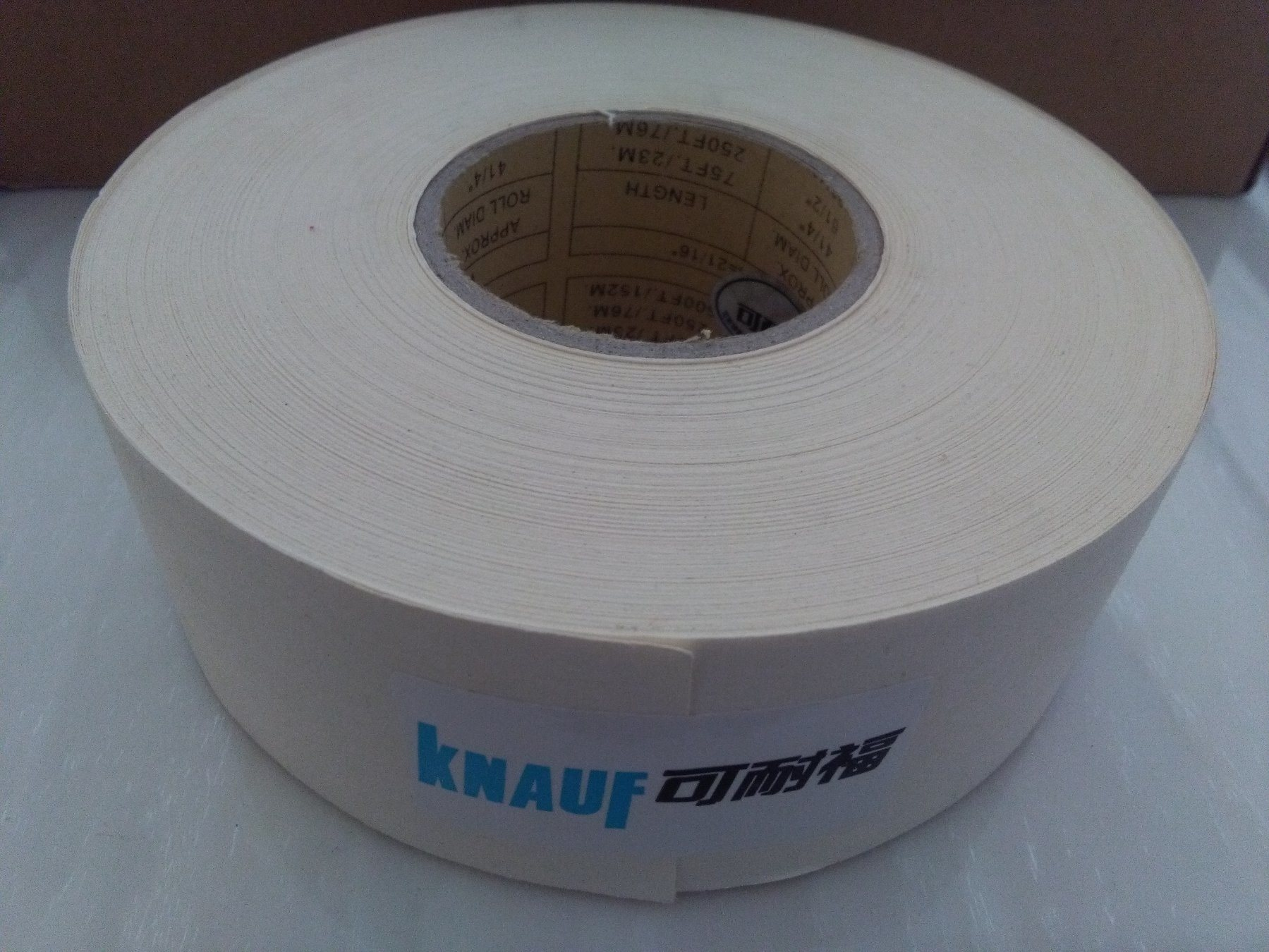 Drywall Paper Tape Hot Item 50mm 150m Gypsum Board Drywall Joint Paper Tape Knauf Quality