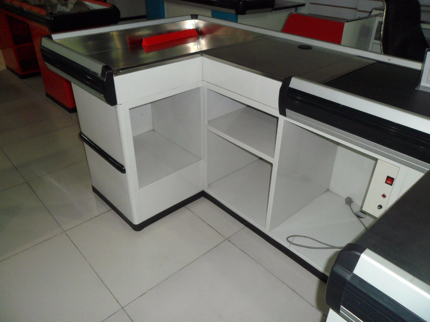Sale Counter Design China Shop Checkout Counter Retail Store Cash Counter