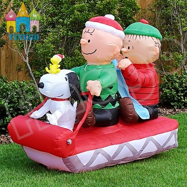 Inflatable Christmas Yard Decorations Extraordinary Funny China Giant Snoopy Boys