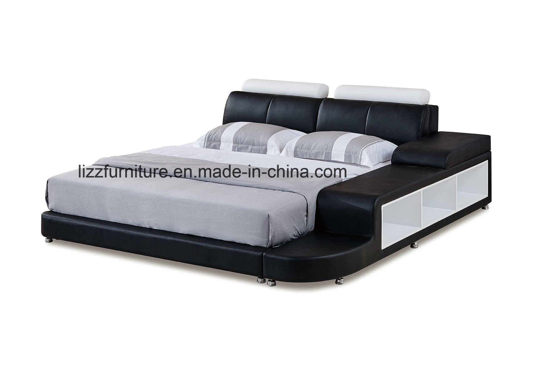 Leather Bed Frame Hot Item Divan Bedroom Set Modern Italian Leather Bed Frame