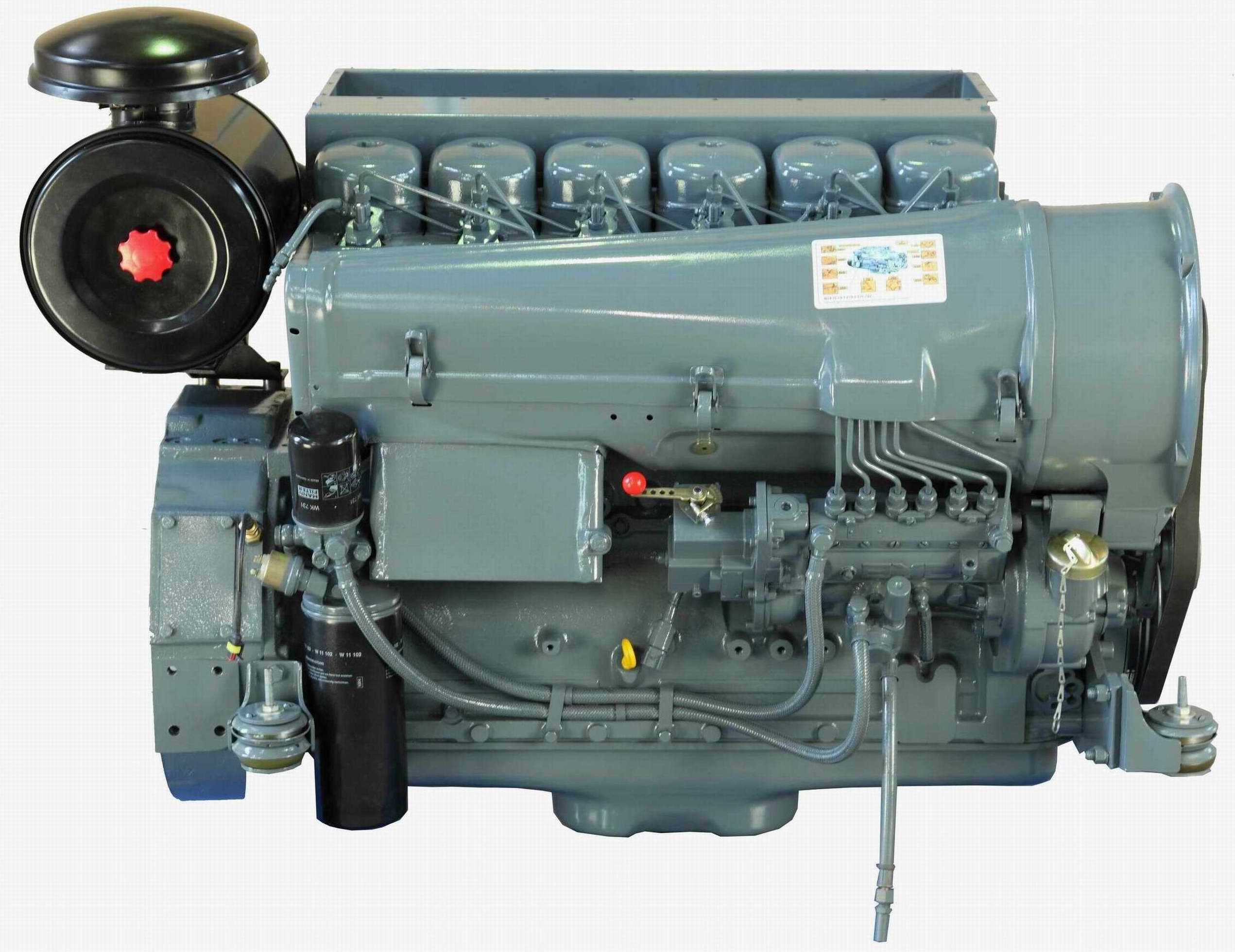 F6l912 Deutz Diesel Engine Auto Electrical Wiring Diagram Air Cooled