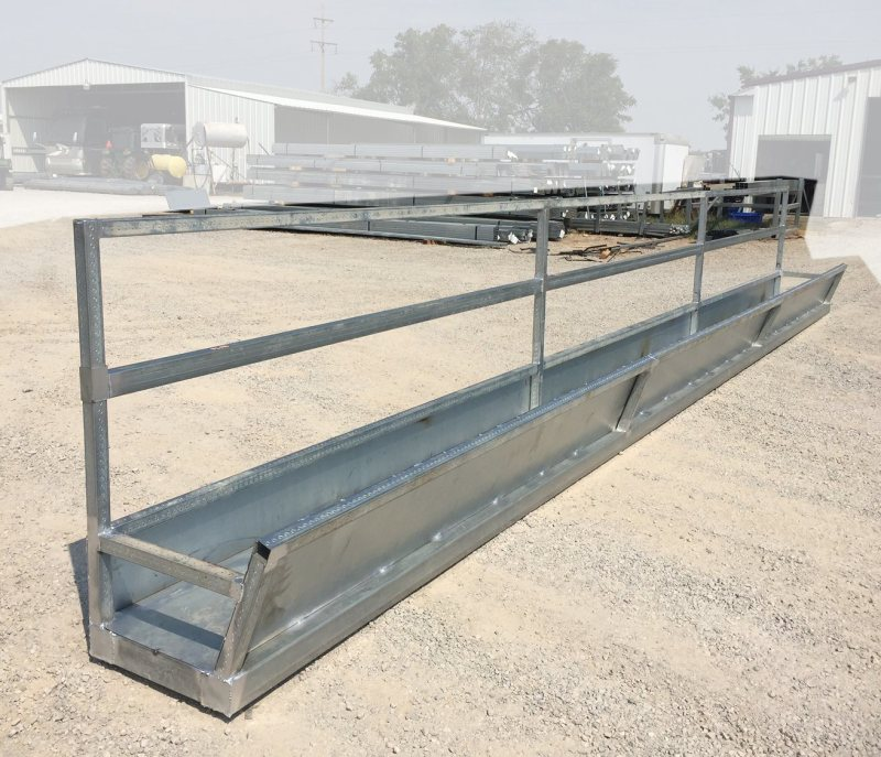 Large Of Galvanized Water Trough