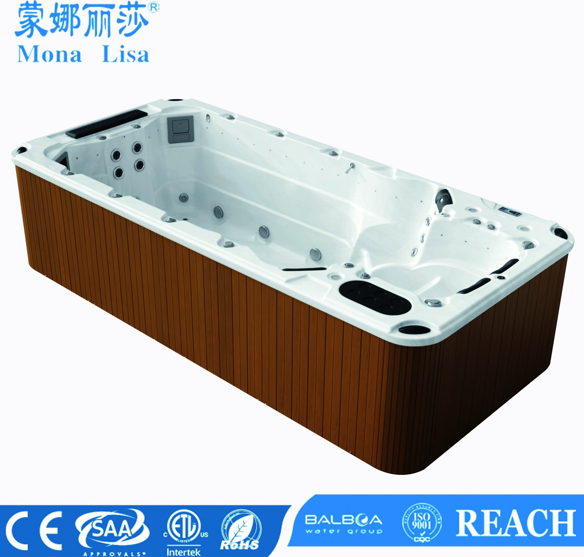 Whirlpool Outdoor Swim Spa Hot Item Special Design Whirlpool Massage Swim Spa Swimming Pool M 3370