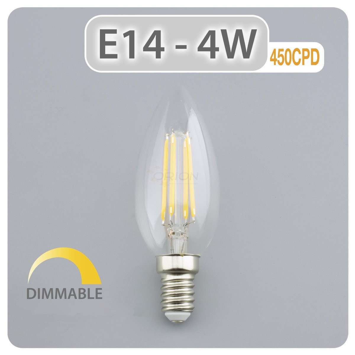 Led E14 Hot Item 4w E14 Dimmable Chandelier Led Candle Light