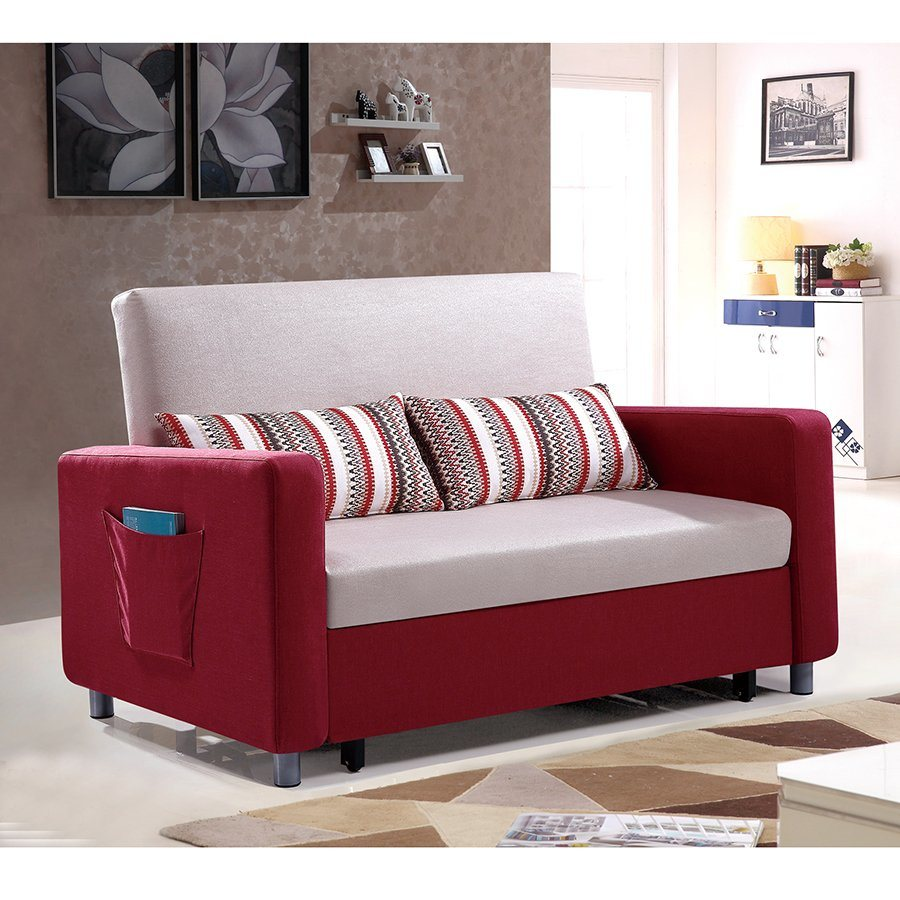 Sofa Bed In Hotels China Durable New Design Colorful Metal Frame Sofa Cum Bed For