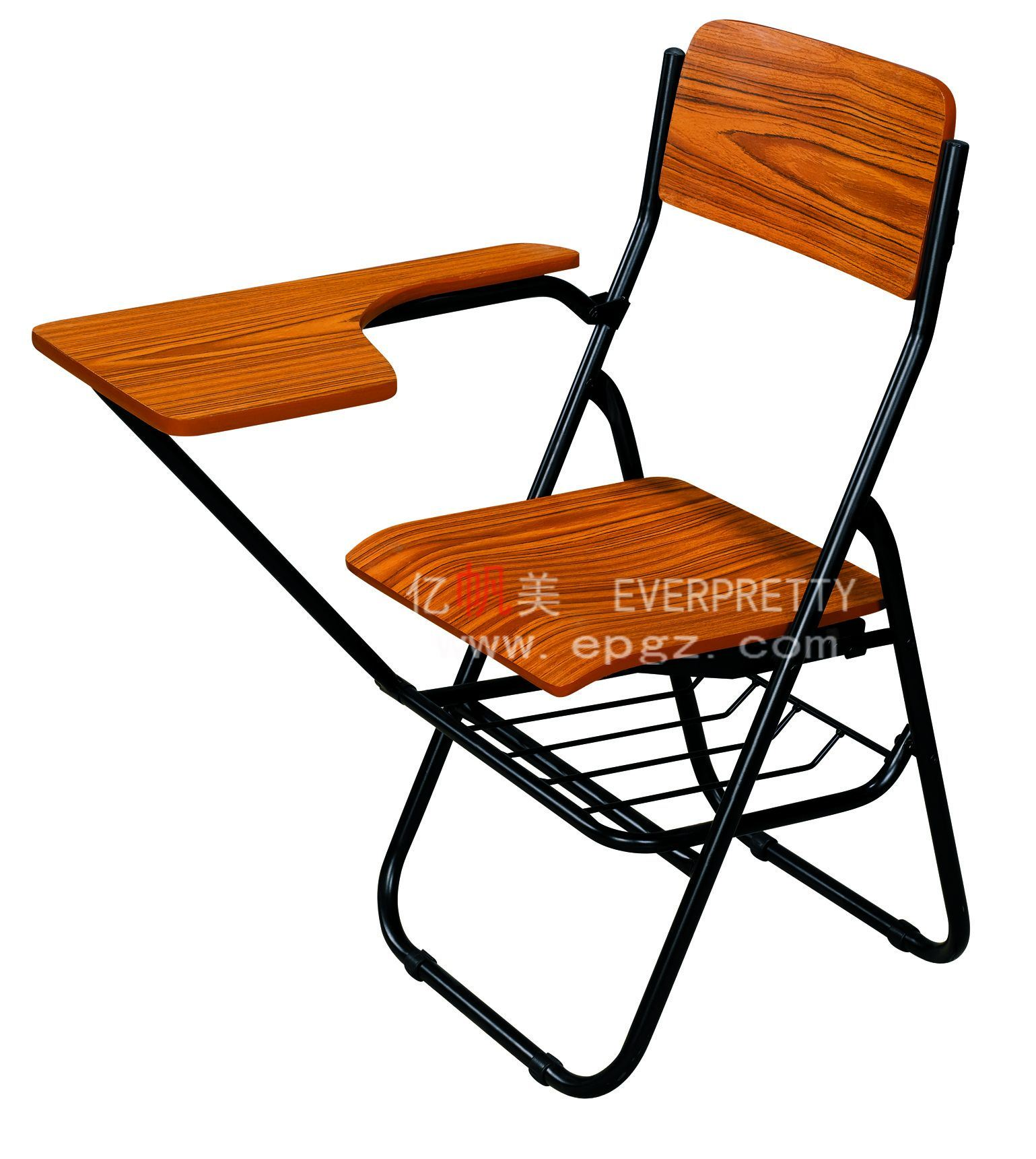 Folding Wooden Chairs Hot Item Adults Education Furniture Folding Wooden Training Chair With Writing Pad