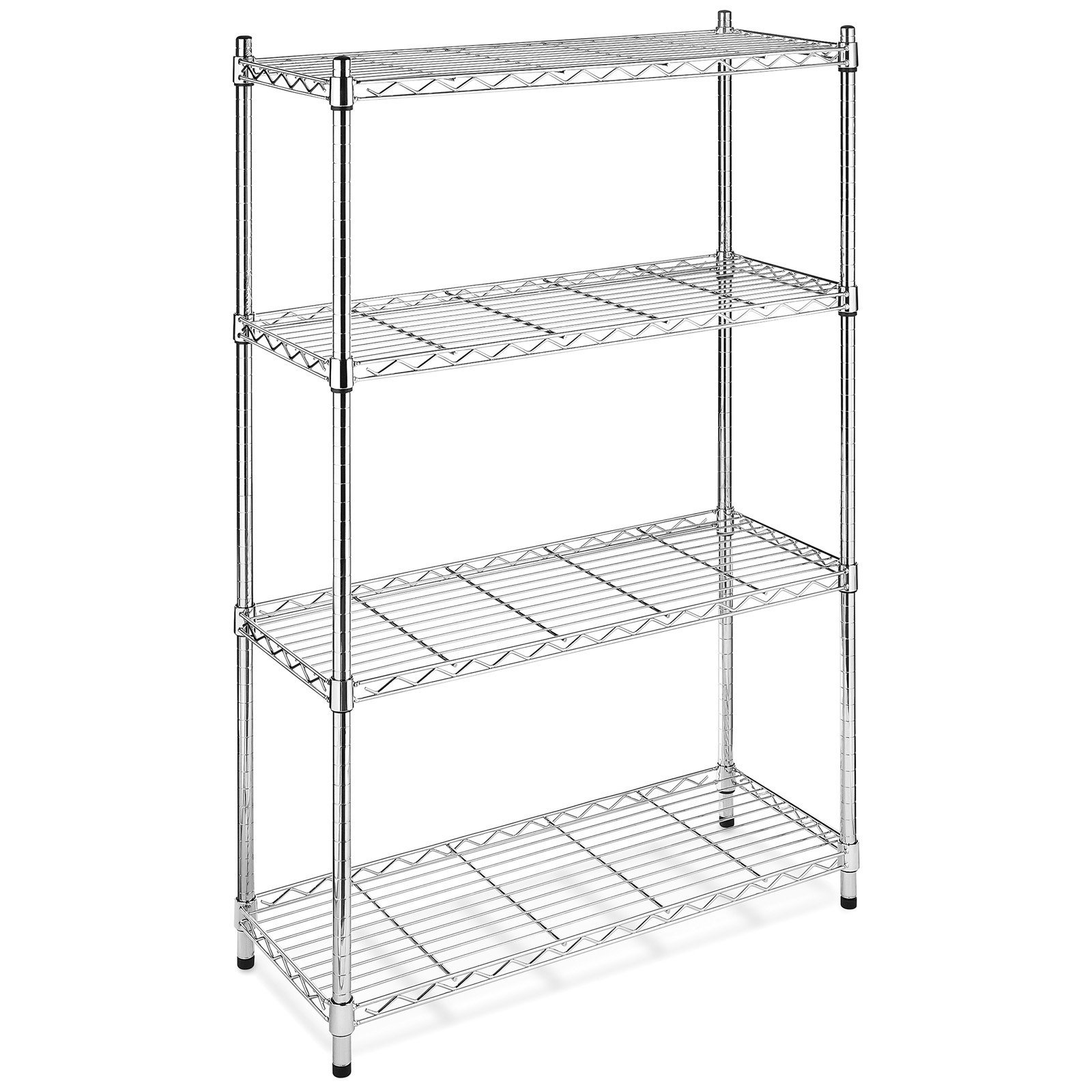 Badregal Edelstahl Hot Item 4 Layers Black Painted Wire Shelving