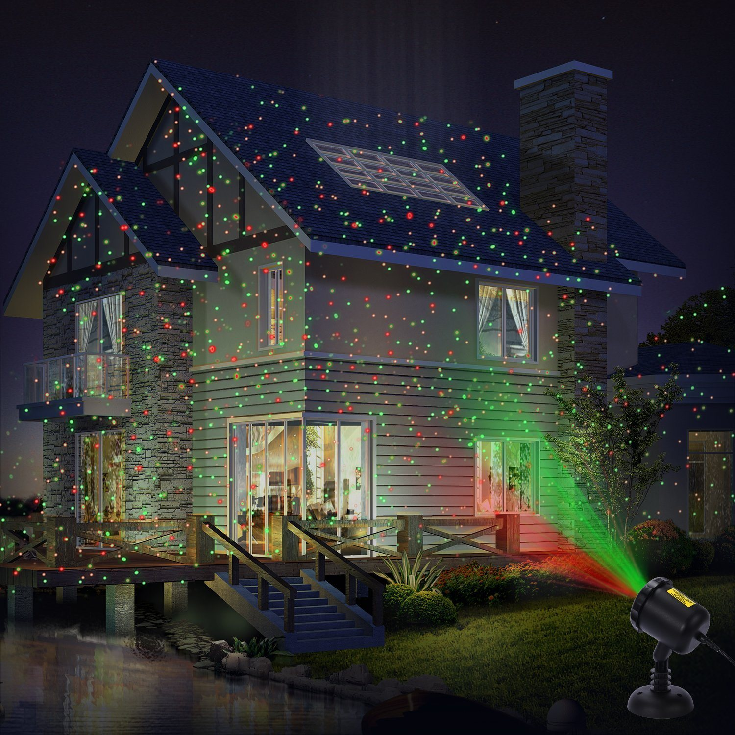 Light Projector Hot Item Outdoor Laser Christmas Light Projector With Wireless Remote