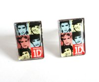 China One Direction Epoxy Stud Earrings - China Earrings ...