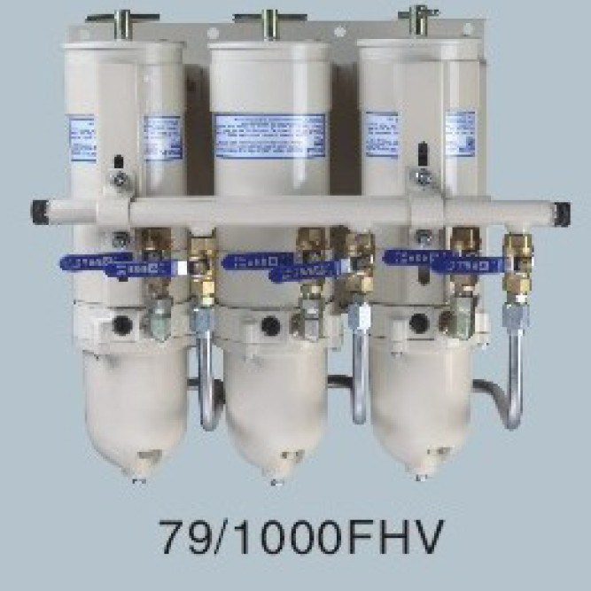 China 79/1000fhv Fuel Filter Electric Fuel Pump Oil Water Separators