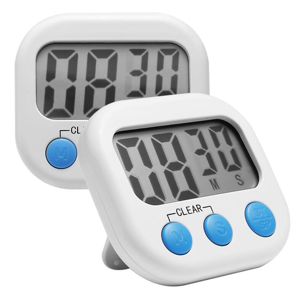 Alarm Timer Hot Item Digital Kitchen Timer Cooking Timers Clock With Alarm Magnetic Back And Stand