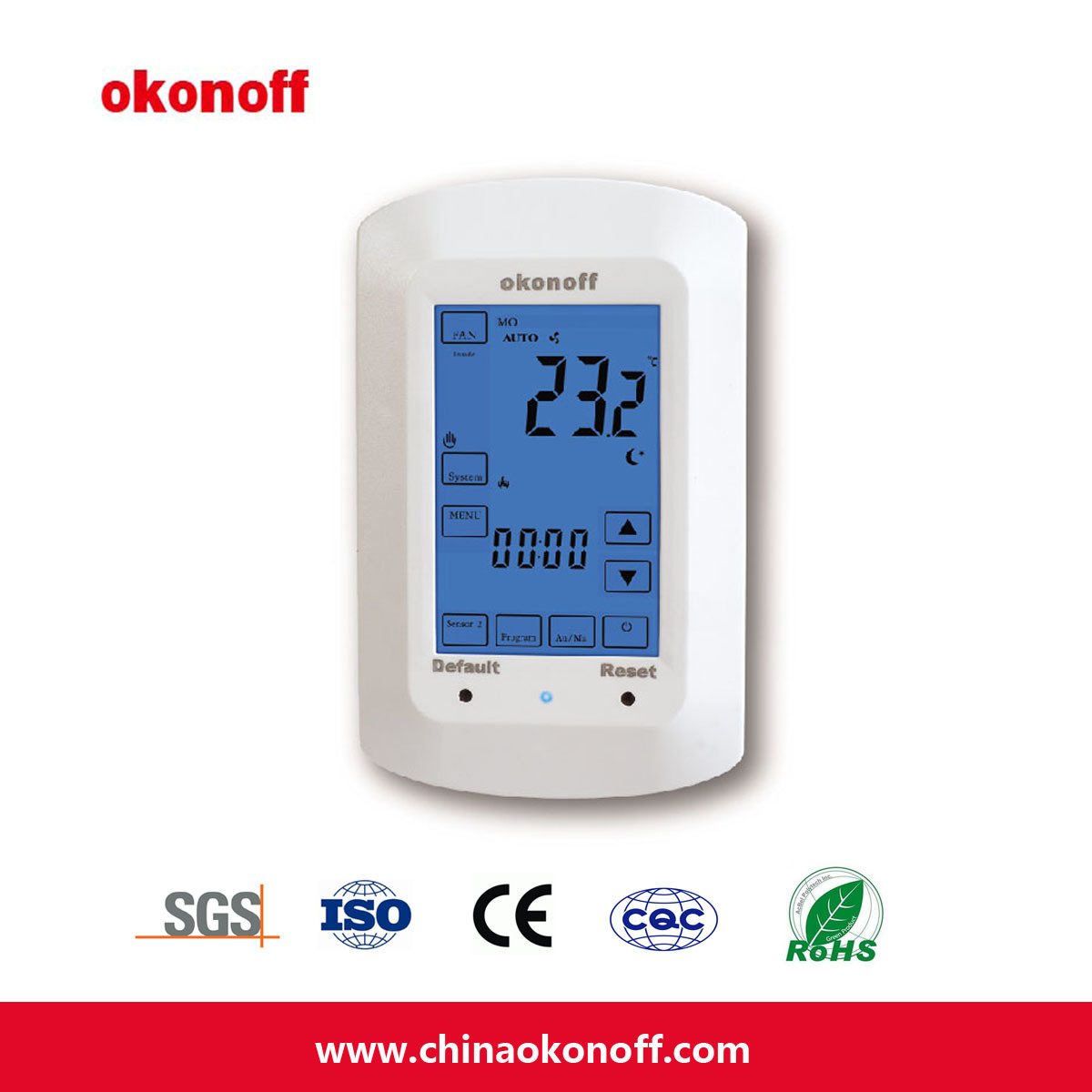 Heating Thermostat Hot Item Ce Touch Screen Floor Electrical Heating Thermostat Tsp730pe
